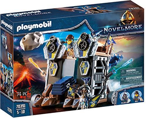 PLAYMOBIL Novelmore 70391 Mobile Katapultfestung, Für Kinder von 4-10 Jahren Bild 1