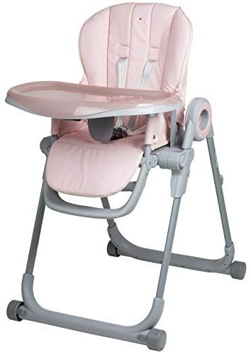 BabyGo 'Divan' Kinderhochstuhl, Rosa Bild 1