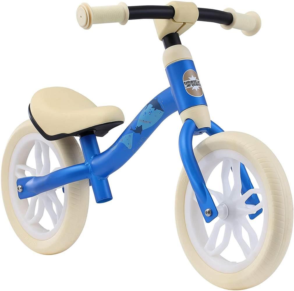 BIKESTAR Federleichtes (3 KG!) Kinderlaufrad Lauflernrad Kinderrad für Jungen und Mädchen ab 2 - 3 Jahre | Mitwachsendes 10 Zoll Kinder Laufrad Lightrunner | Blau | Risikofrei Testen Bild 1