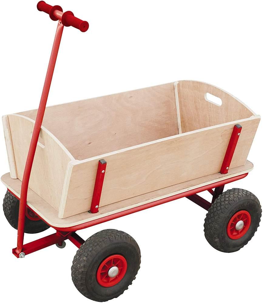 Izzy Bollerwagen aus Holz 100kg Bild 1