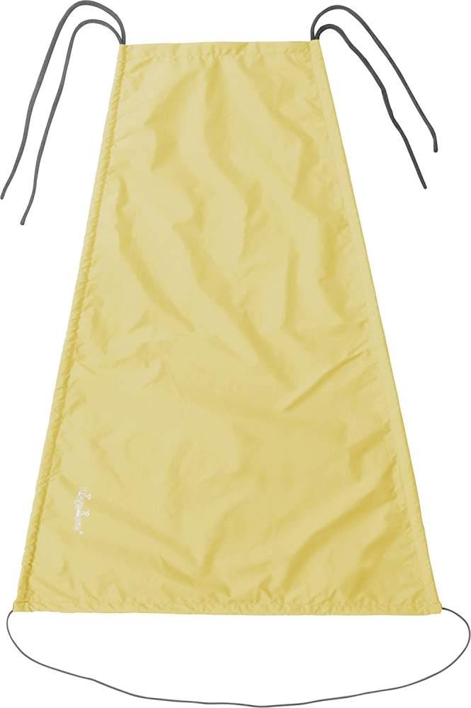 Playshoes Baby Sonnensegel für den Kinderwagen, gelb, 75 x 55 cm Bild 1
