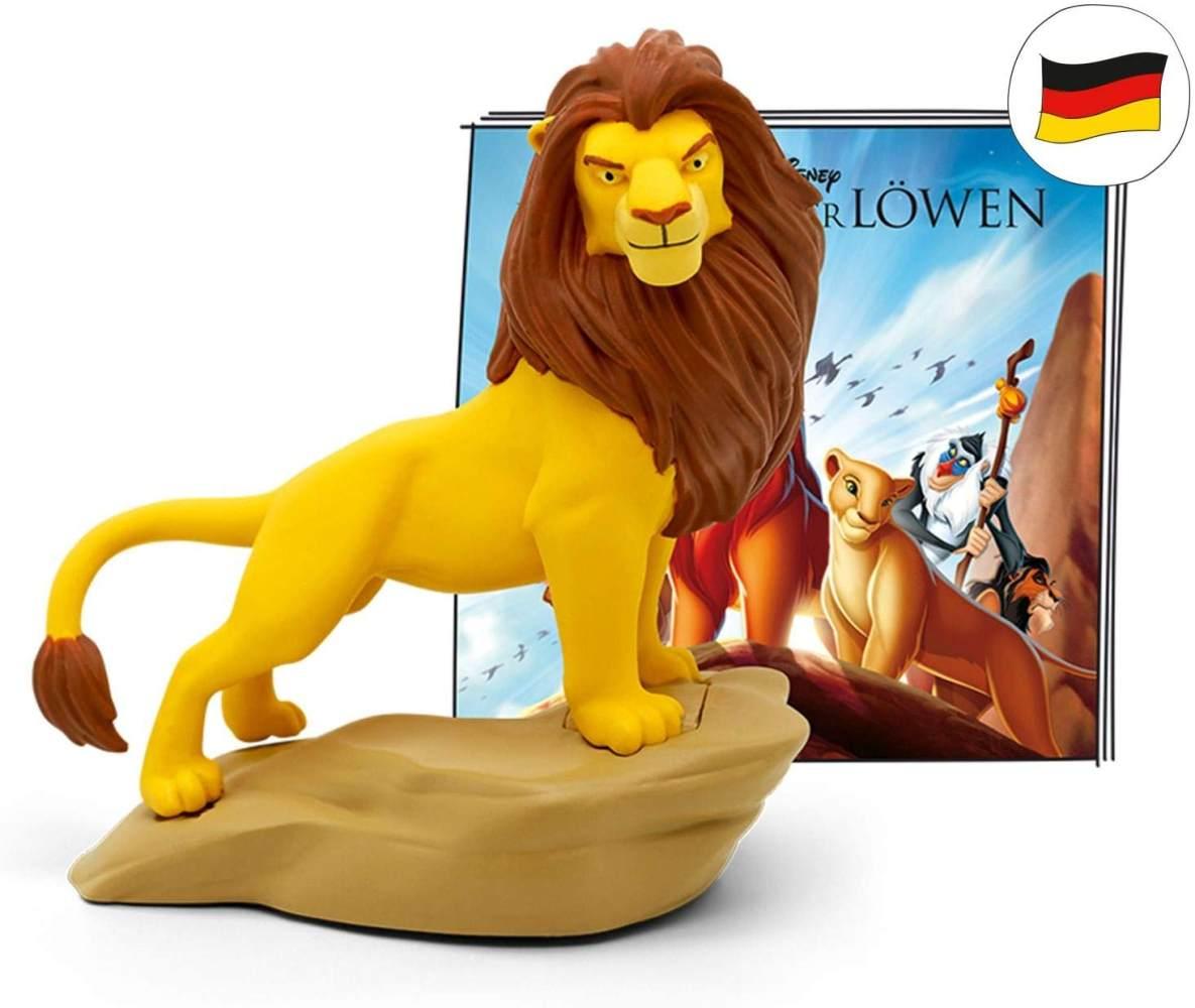 tonies Hörfiguren für Toniebox: Disney Hörspiel KÖNIG DER LÖWEN Figur - ca 48 Min. Spieldauer - ab 4 Jahre - DEUTSCH Bild 1
