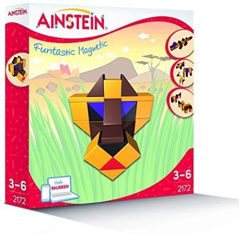 AINSTEIN 2172 - Afrikanische Tiere, fördert Kreativität und Feinmotorik, optimal für Kindergarten- und Vorschulkinder Bild 1