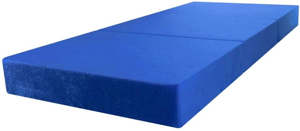 Stillerbursch Klappmatratze 80 x 195 cm Blau Bild 1