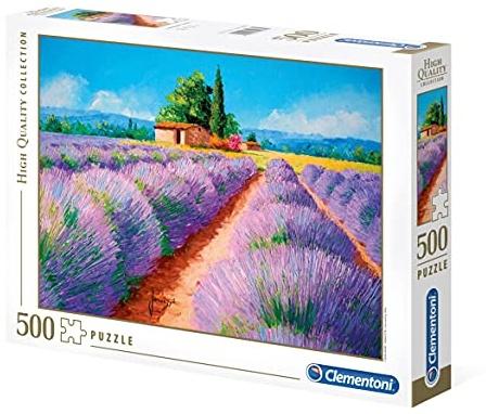 puzzle Lavendel 500 Teile Bild 1
