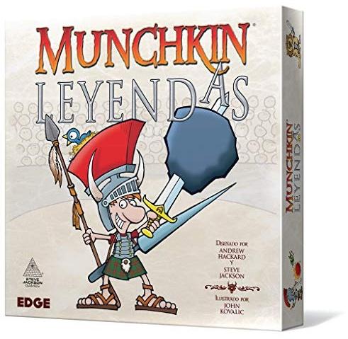Edge Entertainment Munchkin Leyendas Spanisch Farbe (EESJML01) Bild 1