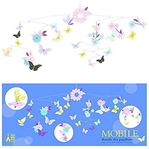 djeco Djeco Mobile Schmetterlinge & Blüten Bild 1