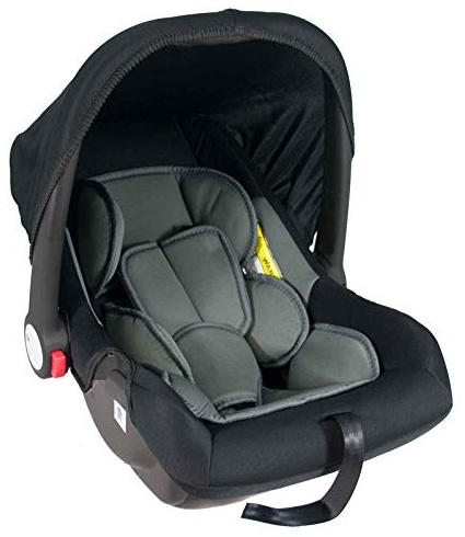 Babyschale United-Kids Babys Dream Gruppe 0+ 0-13 kg Schwarz-Grau Bild 1