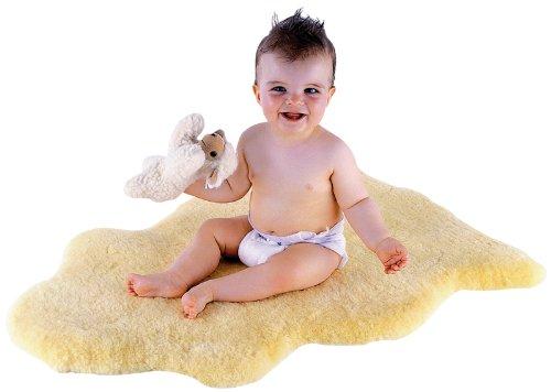 Kaiser Baby-Lammfell Größe 80 plus, geschoren Bild 1