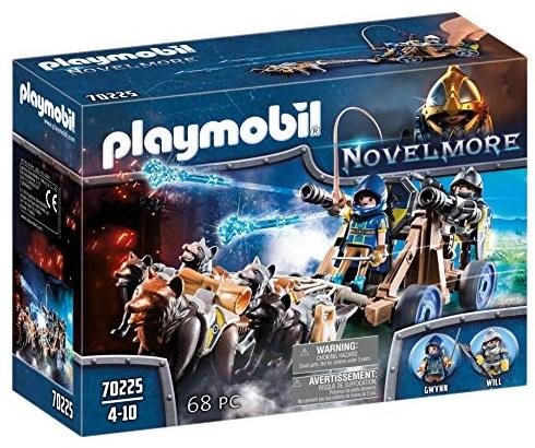 PLAYMOBIL Novelmore 70225 Novelmore Wolfsgespann und Wasserkanone, für Kinder von 4 - 10 Jahren Bild 1