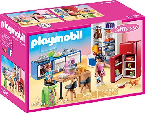 PLAYMOBIL Dollhouse 70206 Familienküche, Ab 4 Jahren Bild 1