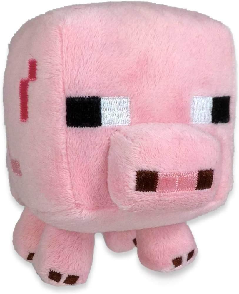 Minecraft 16526 - Plüschfigur Babyschwein Bild 1