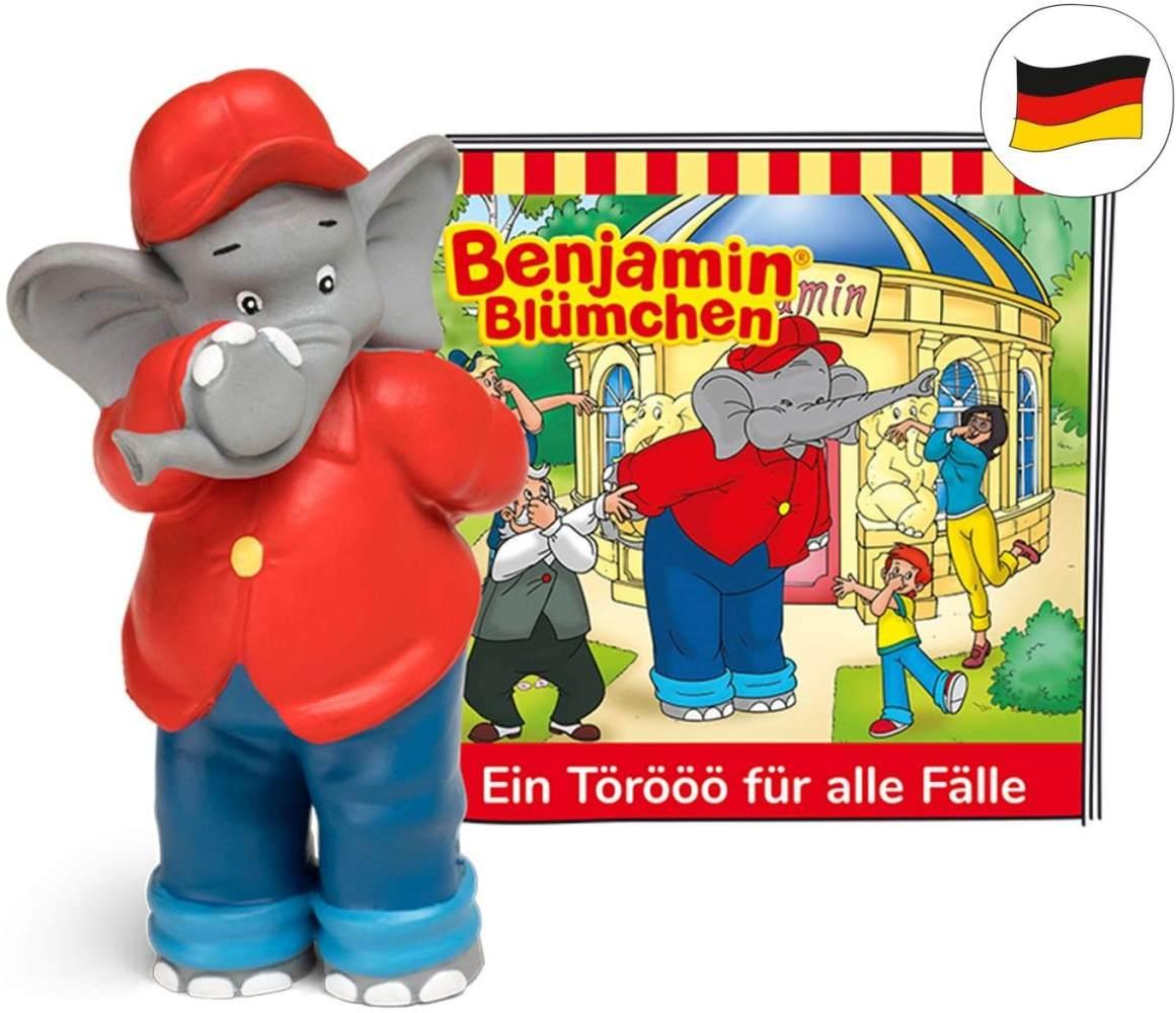 tonies Hörfiguren für Toniebox: Benjamin BLÜMCHEN Hörspiel - EIN Törööö für alle Fälle Figur - 18 packende Geschichten - ca. 61 Min. - ab 3 Jahre - DEUTSCH Bild 1