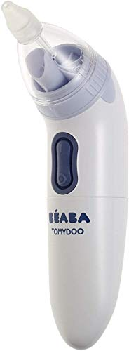 Béaba – Babynasenreiniger Tomydoo – Elektrischer Baby-Nasensauger – Blitzschnell, einfach zu bedienen und dank der 3 Aufsätze mitwachsend – Sterilisierbar Bild 1
