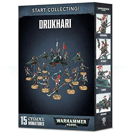 Warhammer 40k Dark Eldar Codex Start Collecting! Drukhari (70-45) Games Workshop Bild 1