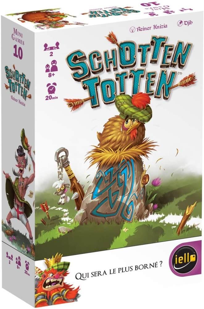 IELLO 51302 Gesellschaftsspiel Schotten Totten Bild 1