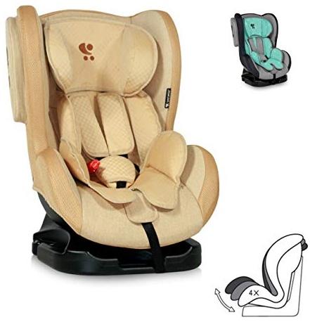 Lorelli Kindersitz Tommy + SPS Gruppe 0/1 (0-18 kg), verstellbare Rückenlehne, Farbe:beige Bild 1