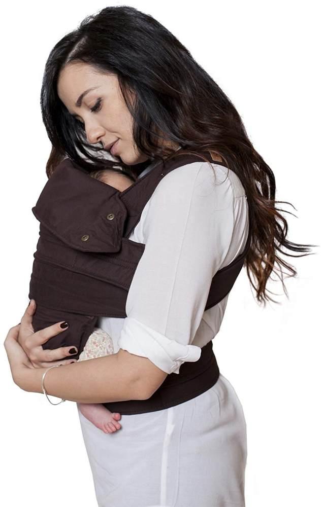 marsupi Baby- und Kindertrage, Version 2.0 (chocolate/brown, S/M) Bild 1
