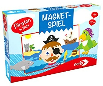 noris 606041723 Magnetspiel-Pirat in Sicht Bild 1