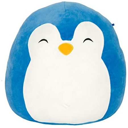 Squishmallow Innovation First Puff der Pinguin, blau – super-weiches Plüschtier, 19cm Bild 1