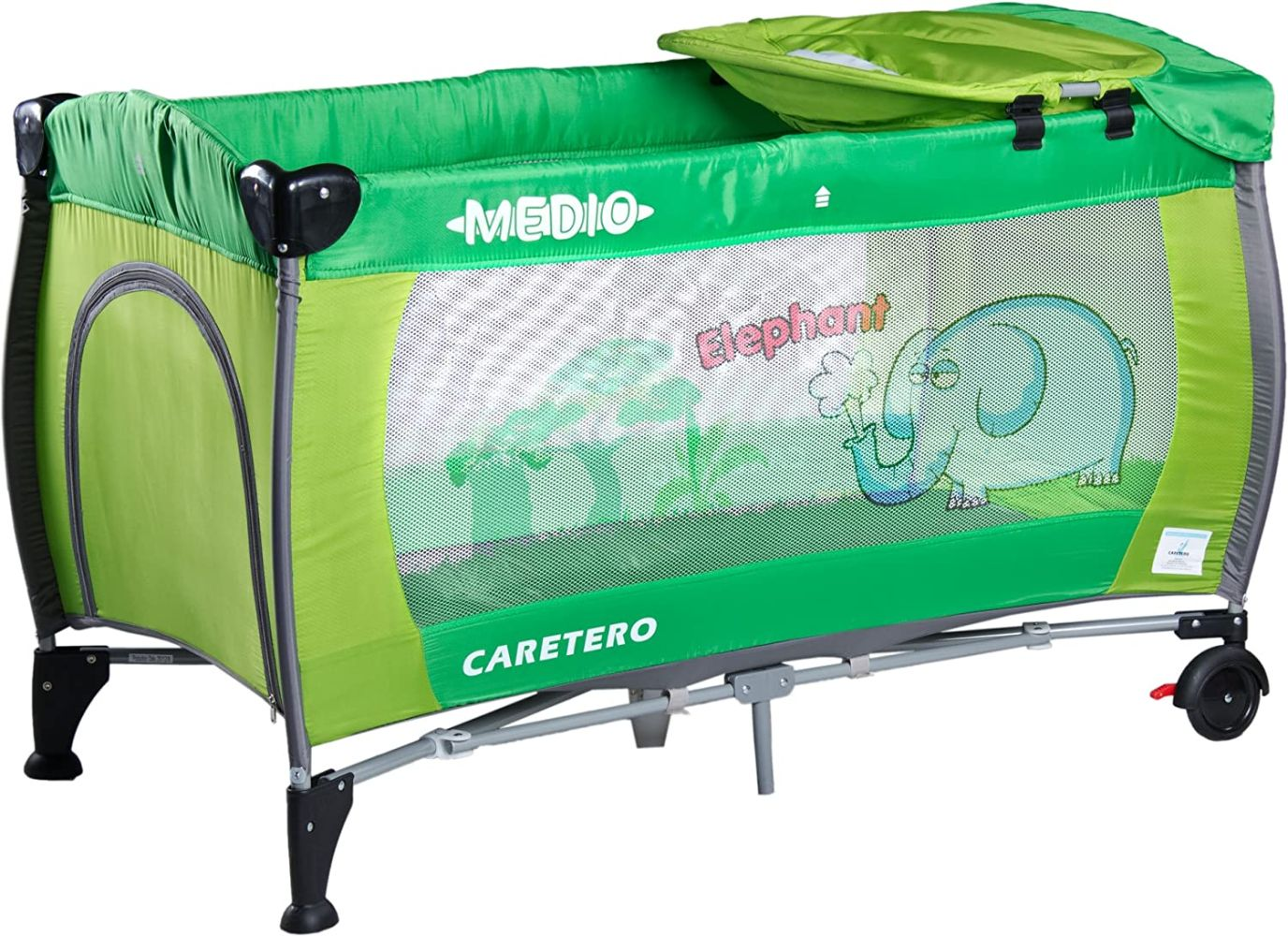 Caretero Medio Safari, Reisebett, grün Bild 1