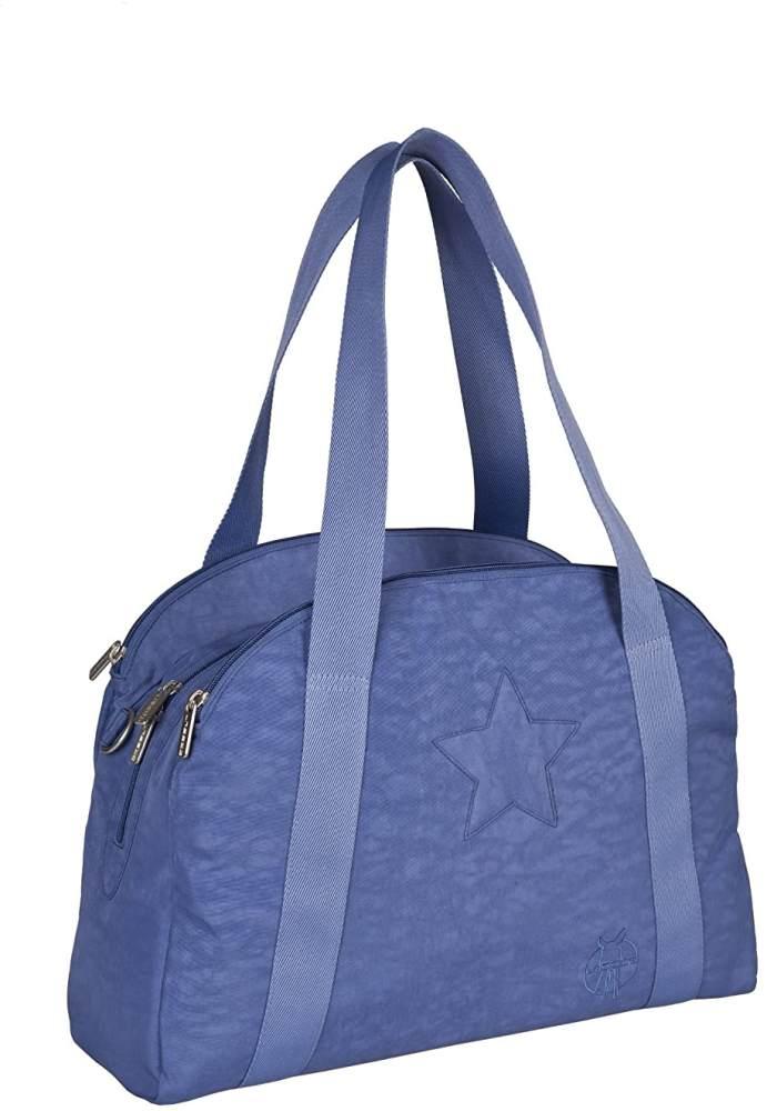 Lässig Casual Porter Bag Star Wickeltasche mit verstellbarem Schultergurt inkl. Wickelzubehör, blue jeans Bild 1