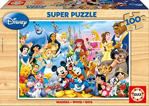 Educa 12002 - Holzpuzzle The Wonderful World of Disney Bild 1