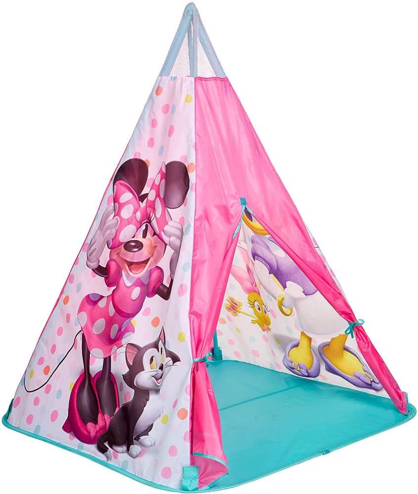 Worlds Apart Tipi-Spielzelt Minnie Maus 100×100×120 cm Rosa Bild 1