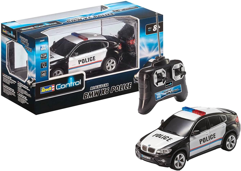 Revell Control 24655 - BMW X6 Police im Maßstab 1:24 Bild 1