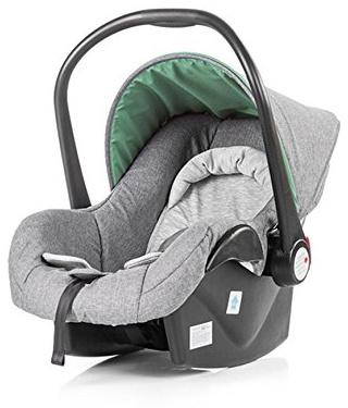 Chipolino Kindersitz, Babyschale Avenue Gruppe 0+ (0-13 kg) mit Innenkissen, Farbe:grau Bild 1