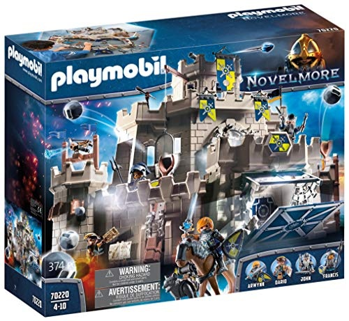 Playmobil Novelmore 70220 'Große Burg von Novelmore', 374 Teile, ab 4 Jahren Bild 1