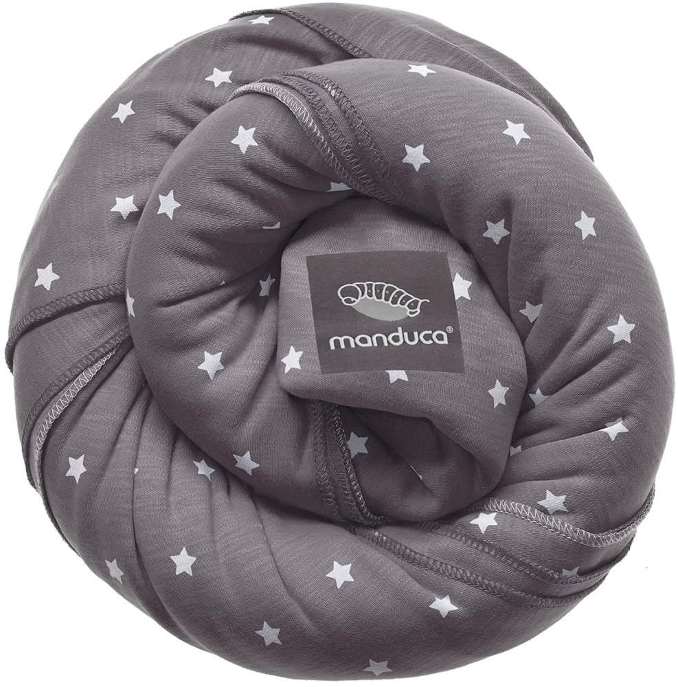 Manduca 'Sling' Tragetuch Grau mit Sternen Bild 1