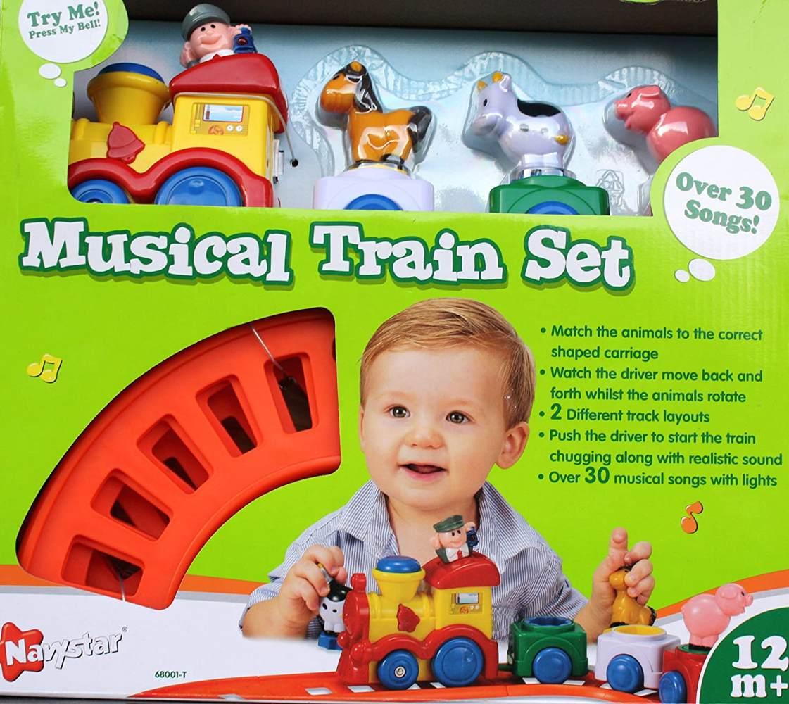 Zug-Set mit Schienenkreis Besttoy Bild 1