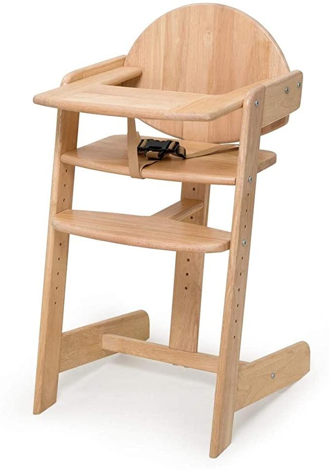 Geuther Kinderhochstuhl aus Holz Filou UP - natur Bild 1