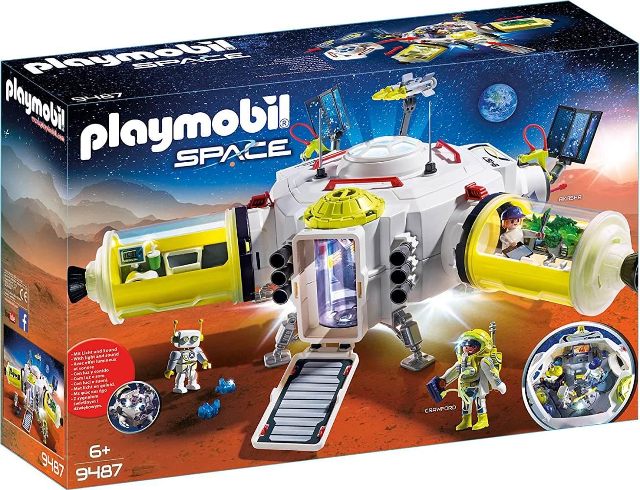 Playmobil Space 9487 Mars-Station, Ab 6 Jahren Bild 1