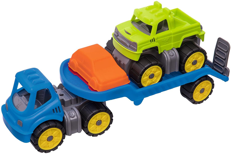 BIG-Power-Worker Mini Monstertruck-Set Bild 1