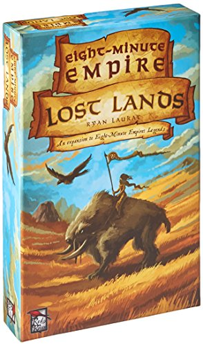 Red Raven Games RRG00007 - Eight Minute Empire Lost Lands Bild 1