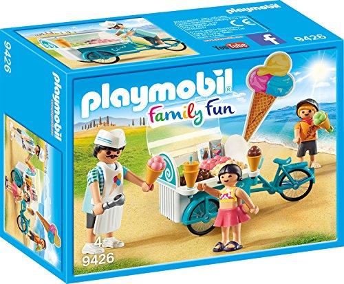 Playmobil 9426 - Fahrrad mit Eiswagen Spiel Bild 1
