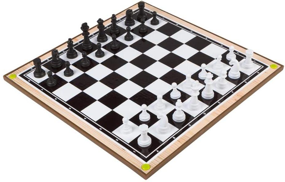 Color Baby - Spiel Schach und Dame 2 in 1 (43556.0) Bild 1