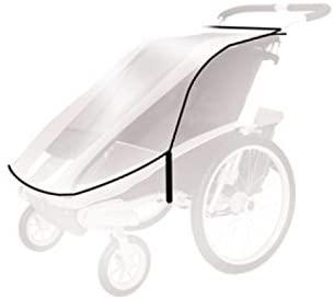 Thule Baby für Chariot Cougar 2, Cx2 Spritzschutz, transparent, One Size Bild 1