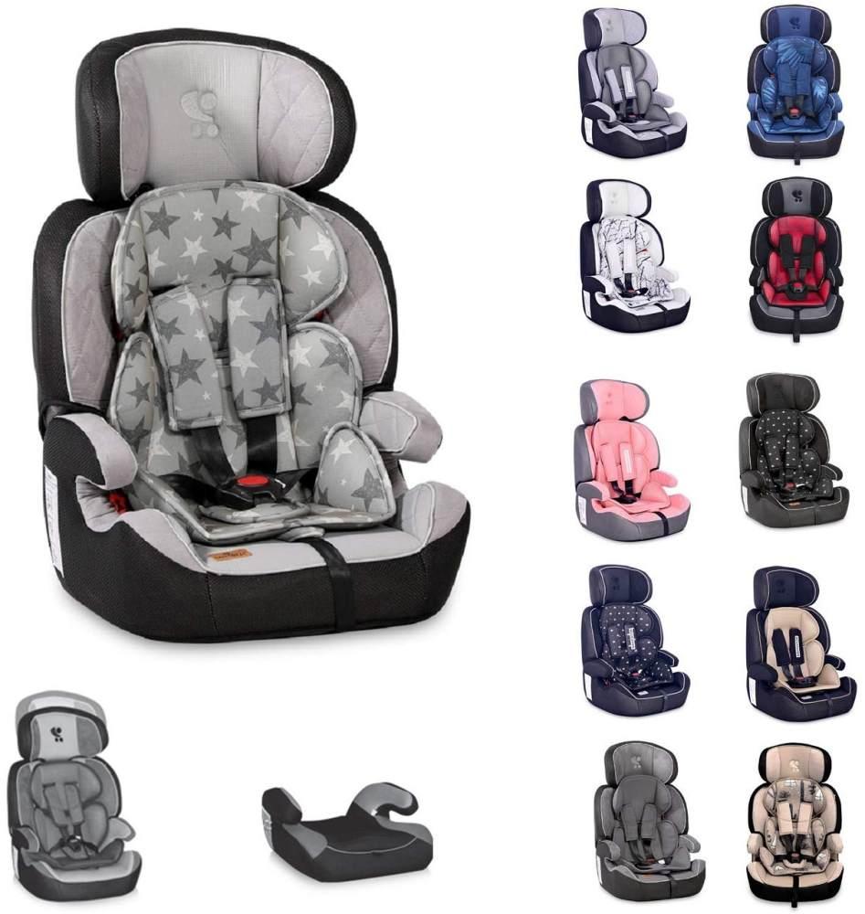 Lorelli Kindersitz Navigator Gruppe 1/2/3 (9 - 36 kg) 1 bis 12 Jahre umwandelbar weiß grau Bild 1