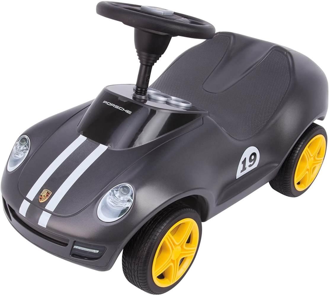BIG - Baby Porsche - Designt von den Porsche Design Studios, mit breiten Flüsterreifen und griffigem Lenkrad, Rutscher Auto, für Kinder ab 18 Monaten Bild 1
