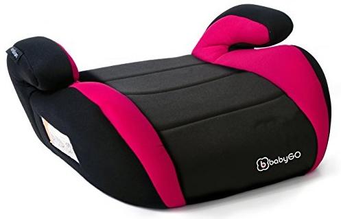 babyGO 'BOOSTER' Sitzerhöhung Rot, 15 bis 36 kg (Gruppe 2/3) Bild 1
