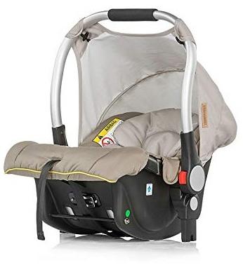 Chipolino Babyschale Fusion Gruppe 0+ (0-13 kg), integrierter Adapter, Farben:beige Bild 1