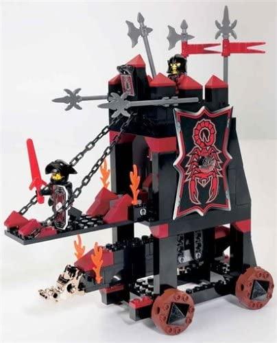 LEGO KNIGHTS' KINGDOM 8800 Vladeks schwarzer Angriffsturm, 190 Teile Bild 1