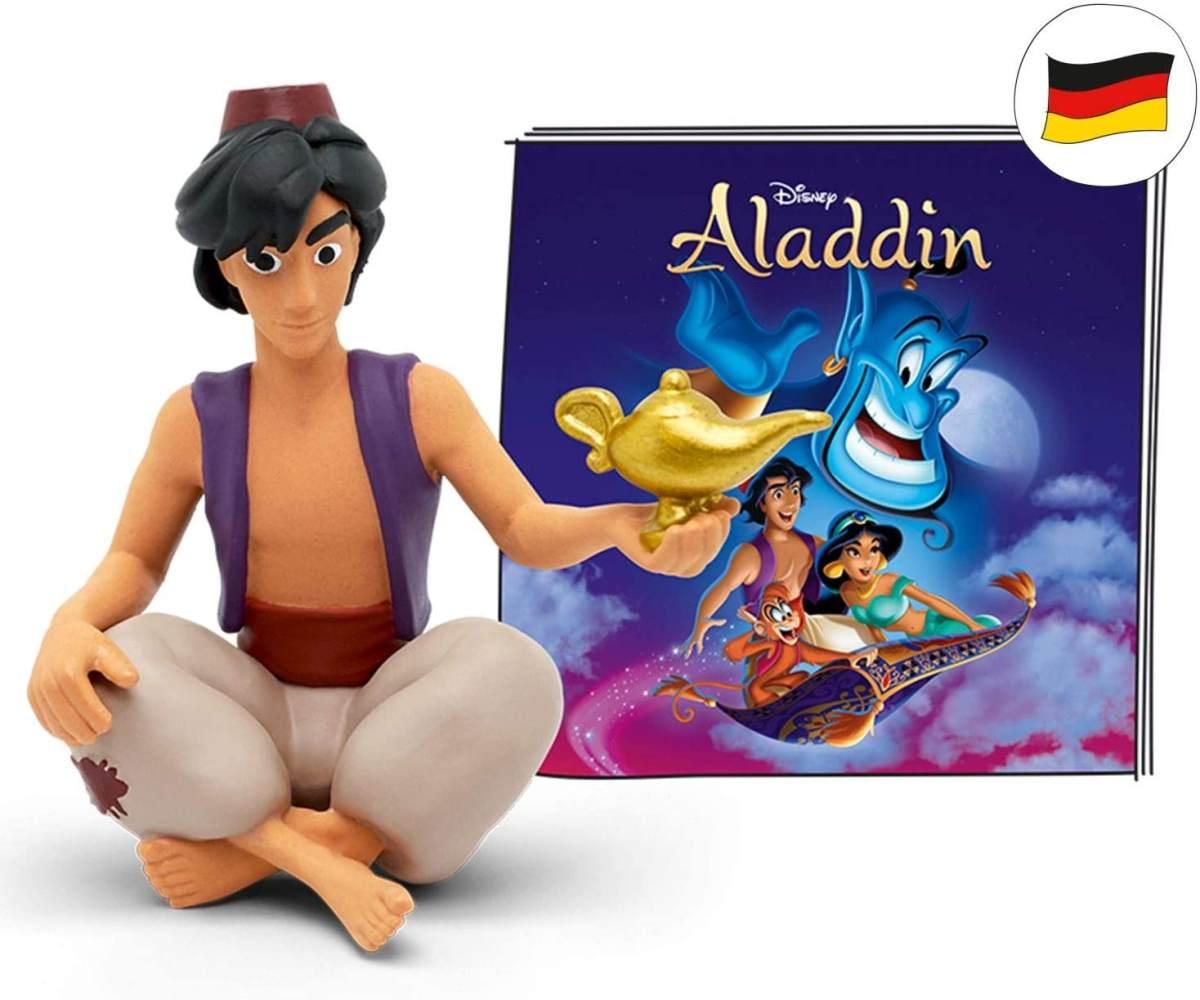 tonies Hörfiguren für Toniebox: Disney Hörspiel für Kinder Aladdin Figur - ca 60 Min. Spieldauer - ab 4 Jahre - DEUTSCH Bild 1
