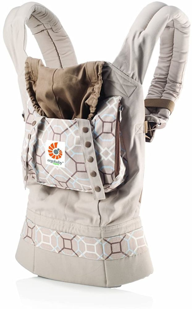 Ergobaby Babytrage Kollektion Organic (5,5 - 20 kg), Lattice Bild 1