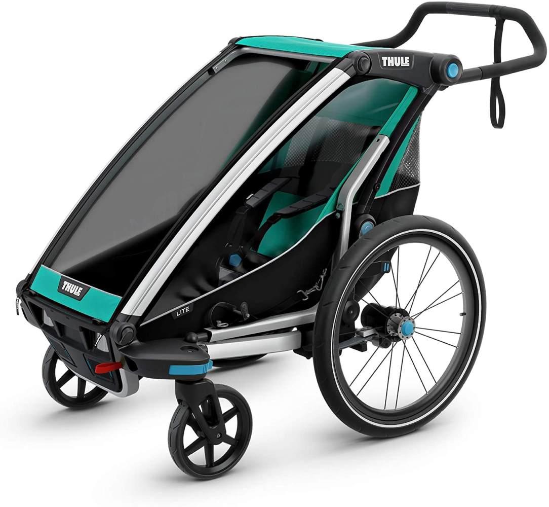 Thule 'Chariot Lite' Fahrradanhänger 2020 Bluegrass-Blau, 1-Sitzer Bild 1