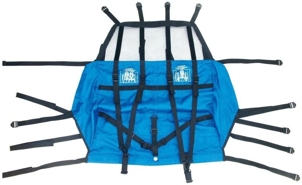 XLC Unisex– Erwachsene BS-X82 Ersatzsitzbezug für Kinderanhänger, blau, Standard Bild 1