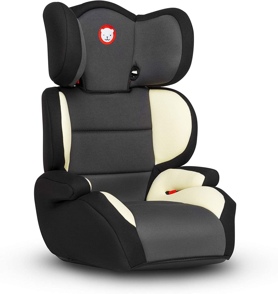 Lionelo Lars Plus Kindersitz, Autositz Sitzerhöhung Gruppe 2 3 (15-36 kg), ImpactGuard Konstruktion, ECE R44/04 Bild 1